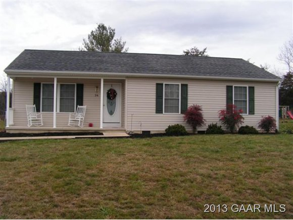 34 EVERGREEN CT, GROTTOES, VA 24441